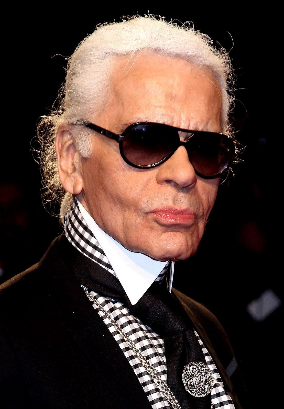Karl Lagerfeld e suas muitas facetas