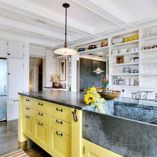 Cozinha: Muita cor para alegrar o dia