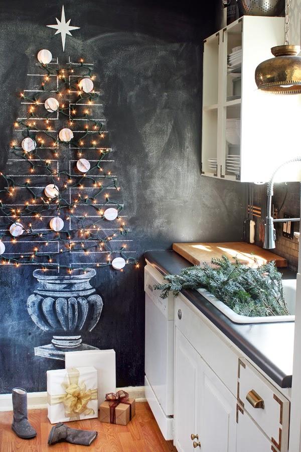 Totalmente encantada com essa árvore de Natal