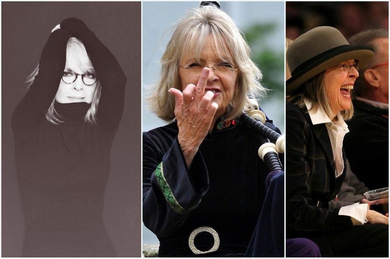 O estilo único de Diane Keaton