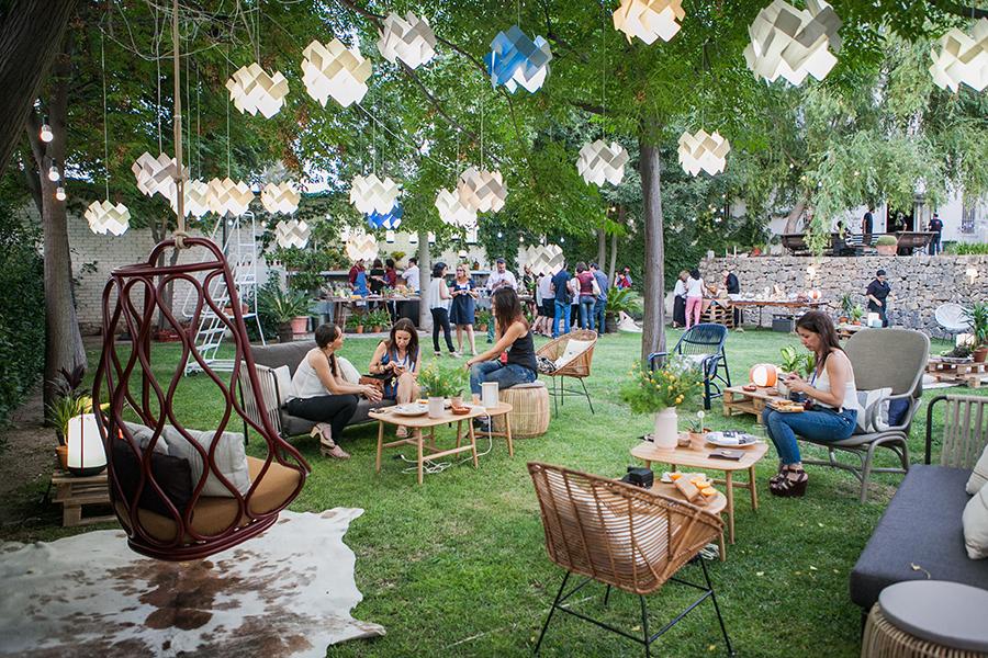 Uma Festa No Jardim Para Se Inspirar